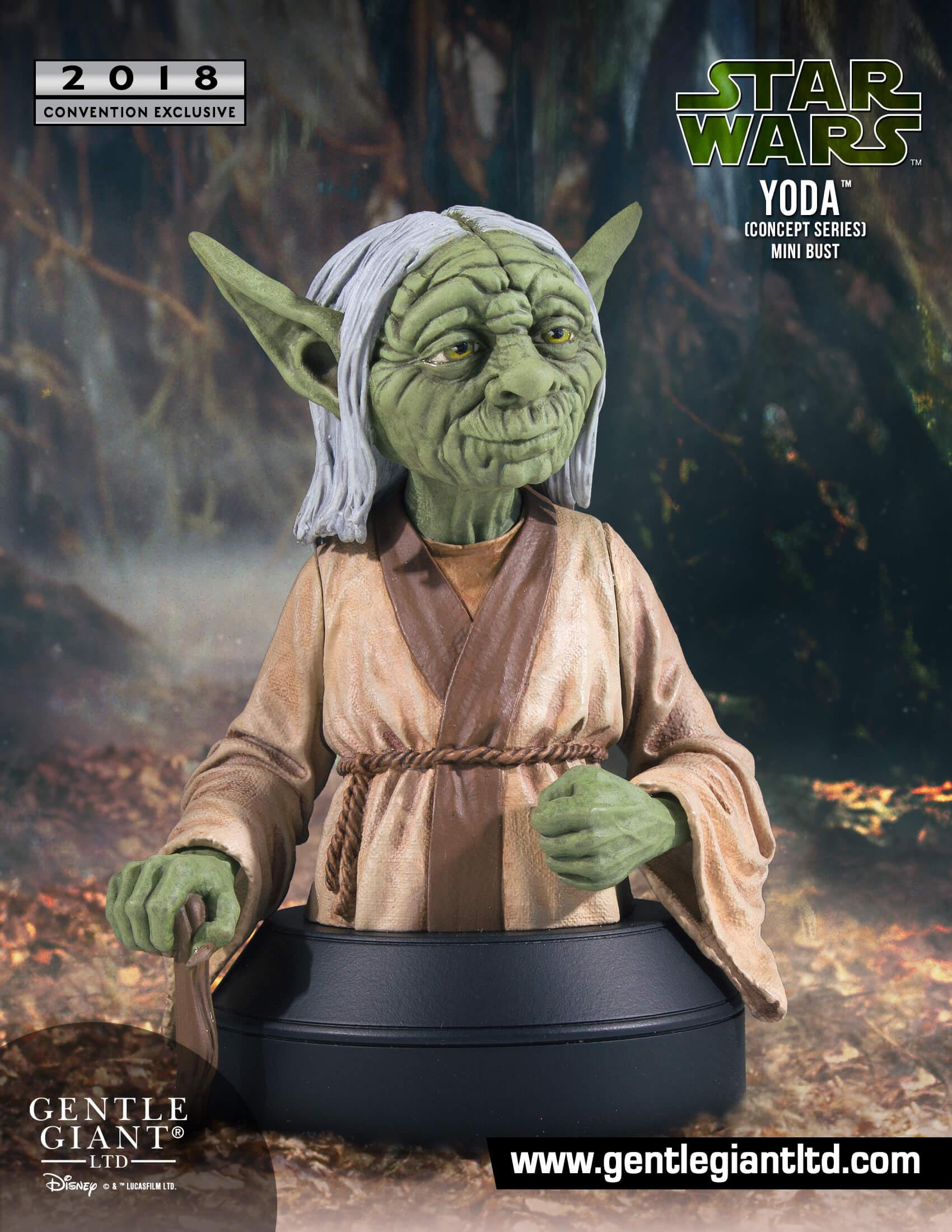 Yoda (Concept Series) Mini Bust